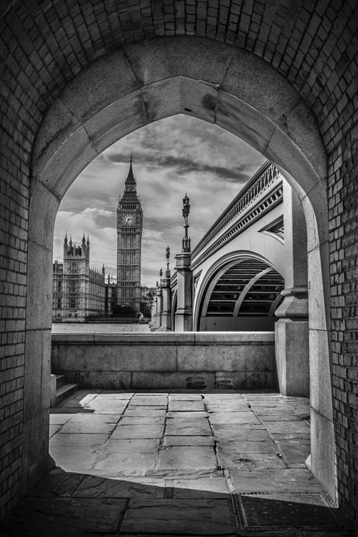 Through the Arch by Anthony Welland